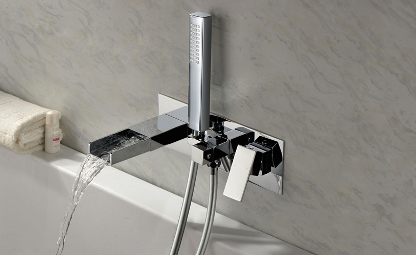 bathroom cascara wall mounted taps