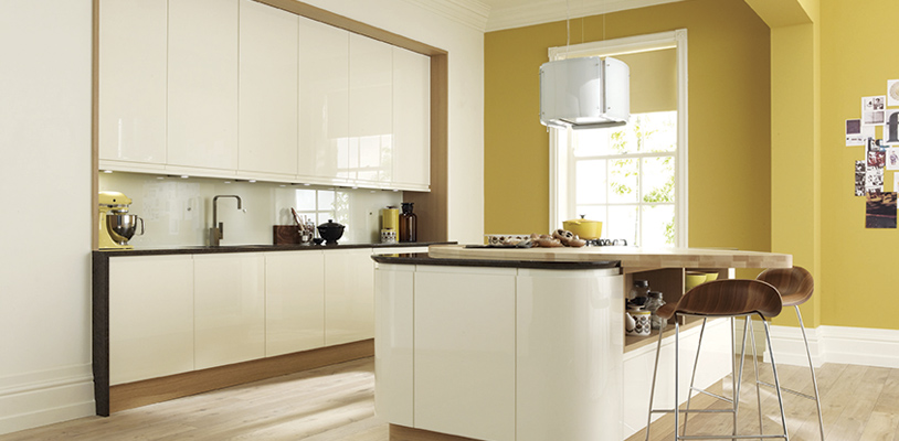 remo alabaster curved kitchen