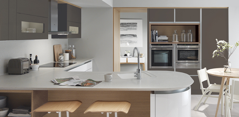 tomba lava white kitchen