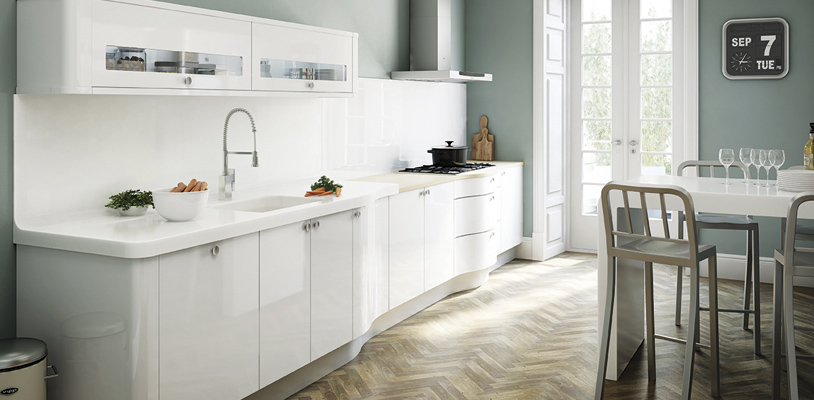 avant white kitchen