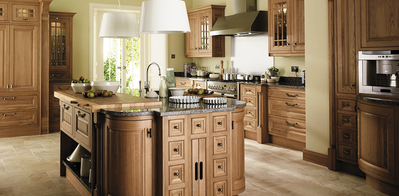 astor oak kitchen