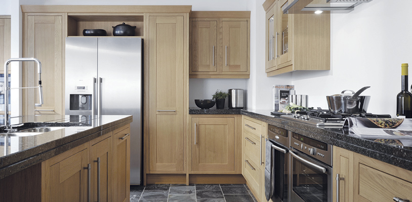 milton oak kitchen